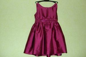 Платье-2 TU бордовое 104-110