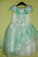 Платье-4 мятное 104--110