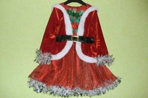 Карнавальный костюм Помощница Санты 92-104