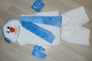 Карнавальный костюм Снеговик-9 рост 110-122