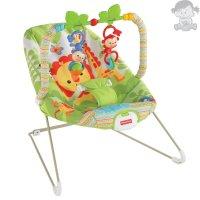 Шезлонг - кресло - качалка Fisher Price Веселые обезьянки до 9 кг