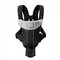 Рюкзак - кенгуру BabyBjorn Active черный/серый, до 12 кг
