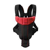 Рюкзак - кенгуру BabyBjorn Active черный/красный, до 12 кг