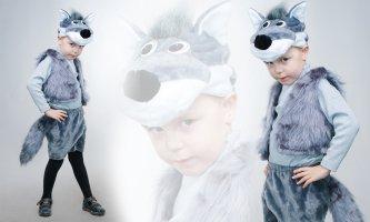 Карнавальный костюм Волк-1 рост 110-116