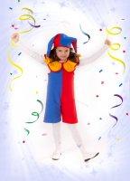 Карнавальный костюм  Скоморох-2 (Петрушка) рост 104-116
