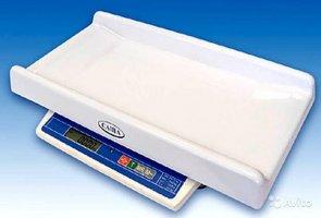 Весы детские электронные для новорожденных Саша 1г авто