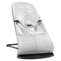 Шезлонг - кресло - качалка BabyBjorn Mesh до 13 кг белый
