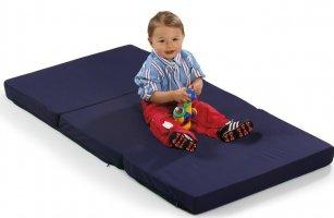 Матрас для манежа - кровати Hauck Sleeper синий