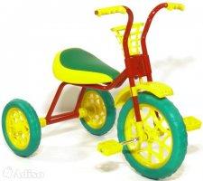 Велосипед детский Зубренок (красная рама)