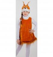 Карнавальный костюм Белочка рост 104-116