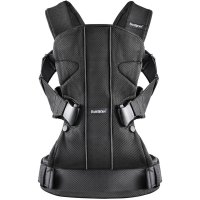 Рюкзак - кенгуру BabyBjorn One mesh черный, до 15 кг