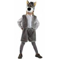 Карнавальный костюм Волк-2 рост 104-116
