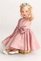 Платье-1 Next розовое с бантом 98-104