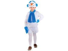 Карнавальный костюм Снеговик-11 рост 104-116