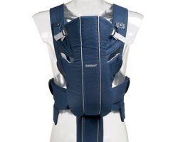 Рюкзак - кенгуру BabyBjorn Active синий/серый, до 12 кг